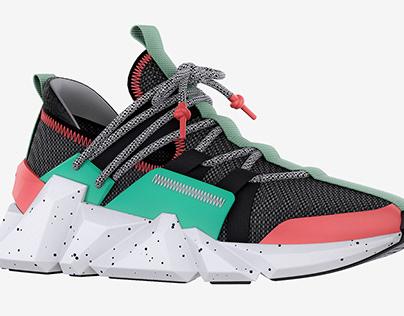 Space Kick — streetwear sneaker
