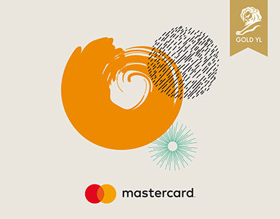 Young Lions Design Oro - Mastercard