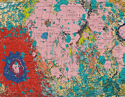 A Geologic Map of the Moon