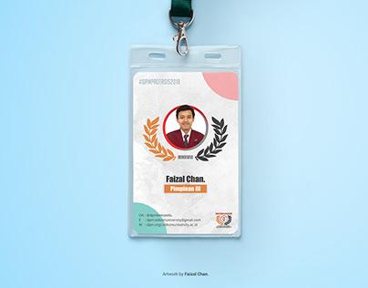 DPM Kema Tel-U Id Card Design