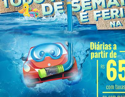 Campanha de Verão para Hay Locadora de Veículos