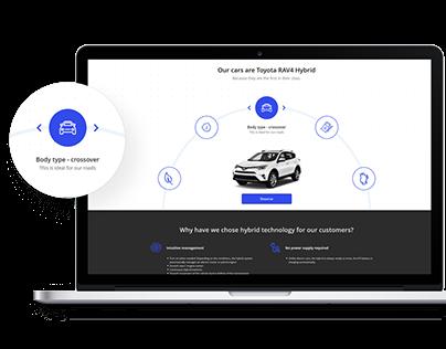Website design and branding for Leodrive