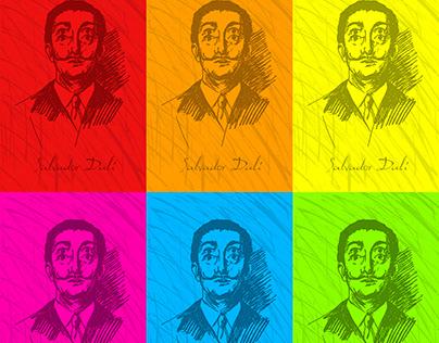 Surrealist Salvador Dali