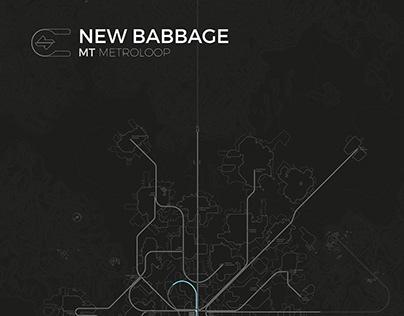 New Babbage Transit Map (Fanart)