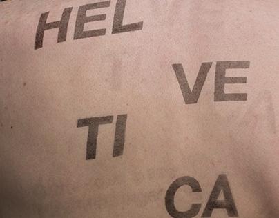 Helvetica: A Type Study