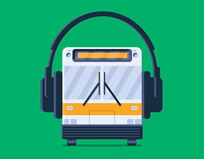 Google Music: Playlist Illustrations