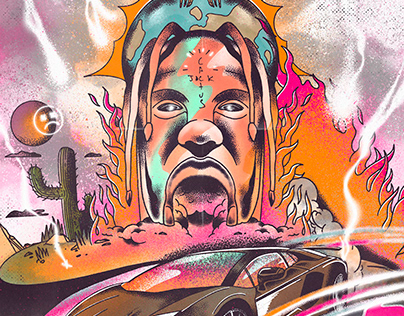 Travis Scott. The trip.