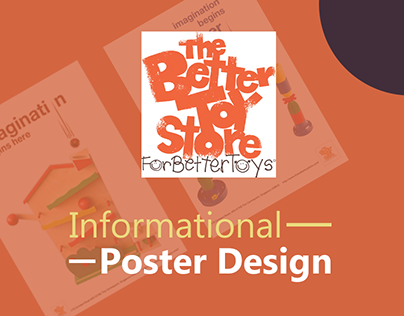 Poster Design - The Better Toy Store