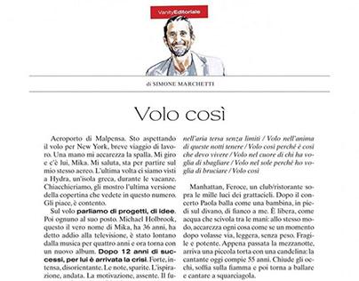 Portrait Vanity Fair Italia