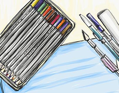 Traditional Graphic Design Tools, Digital Illustration