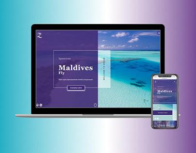 Maldives fly