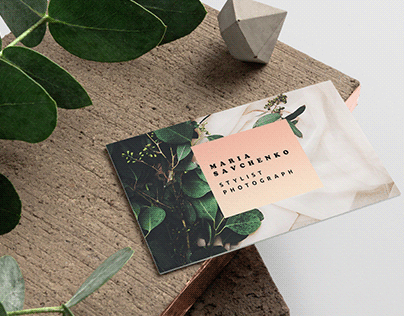 Business Card Template (Stylist/Photograph)