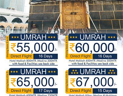 Hajj & Umrah Flyer