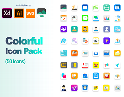 Colorful Icon Pack