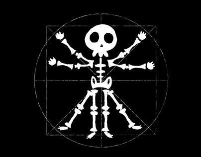 esqueleto de vitruvio
