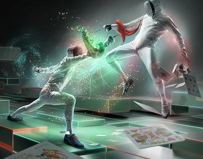 "FIE World Fencing Championships KV ""A Kind of magic"""