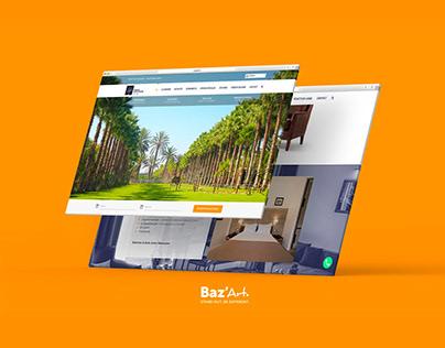 Hotel | Brand identity, Print & Website