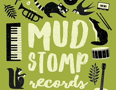 MudStomp Records Poster