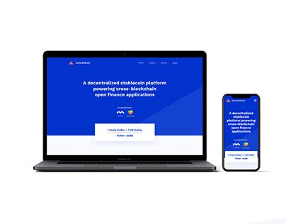 Acala   Branding & UI/UX Design