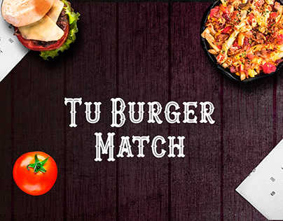 Tu burger match - Chef Burger