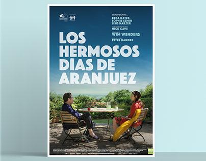Los Hermosos Días de Aranjuez, film poster