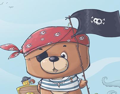 plush bear Ponchik