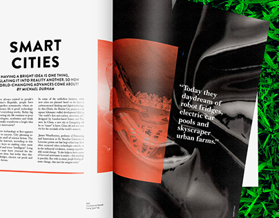 Innovation: Print and Web Publication Design