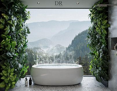 Interior design master bethroom