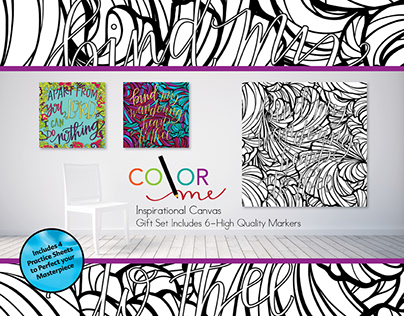 Color Me Canvas Created for Target