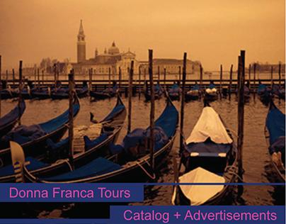 Donna Franca Tours   Catalog + Advertisement