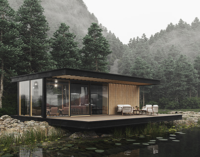 Small M. Bungalow in the Forest