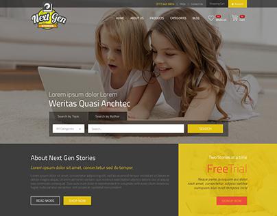 Next Generation Stories Site