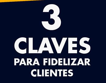 3 claves para fidelizar clientes