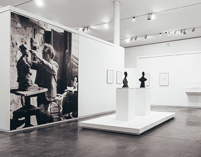 Giacometti, scénographie d'Olivier Arnaudo