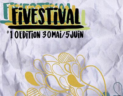 6°Pub - Création Affiche FiveFestival