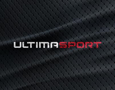 Ultimasport. Logo and pictograms presentation