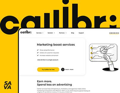 Callibri - website design