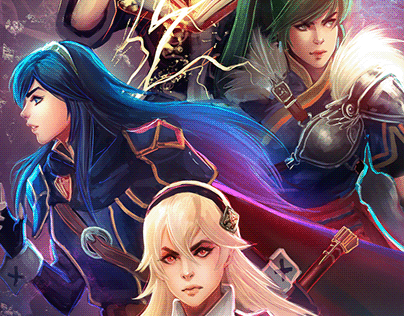 Emblem Heroines - Fire Emblem Package - Patreon Content
