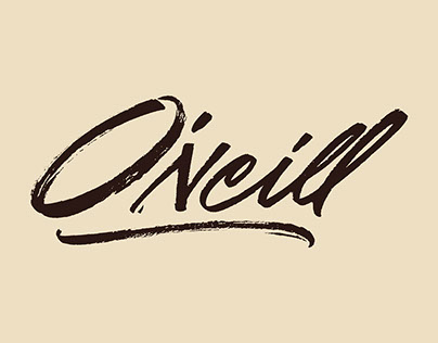 Calligraphy and Lettering set: 2015 - 2017 | O'Neill