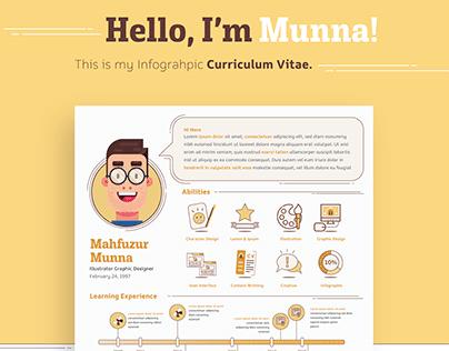 Infograpahic Curriculum Vitae ( Personal Branding )