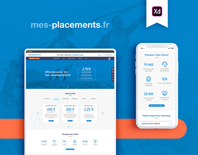wireframe - online savings and life insurance