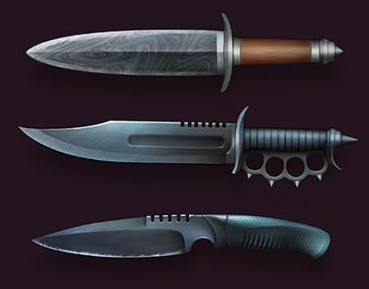 Modern Blade Icons