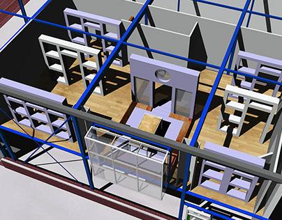 0144_Architecture | Showroom, Interklus
