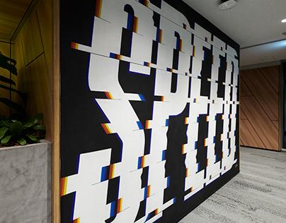 Mural for Google Japan