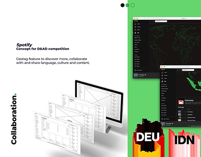 D&AD - Spotify submission concept