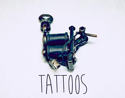 Tattoos & Tattoo artists at work