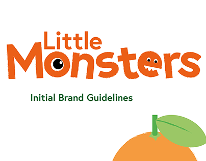 Little Monsters Juices - Initial Brand Guidelines