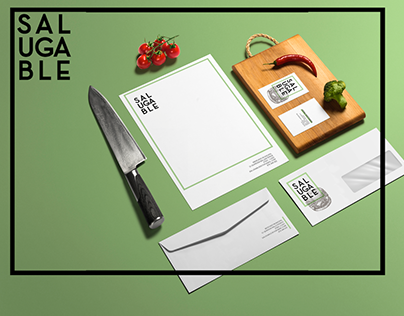 BRANDING / Salugable (cocina vegetariana)