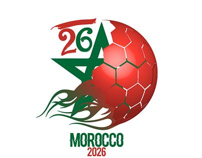 Morocco 2026 Logo
