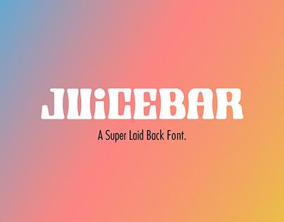 Juicebar Font Design